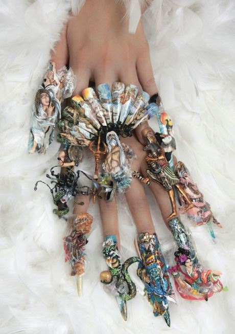 Extraordinary Nail Art in the World