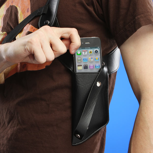 Secret Agent Phone Holder