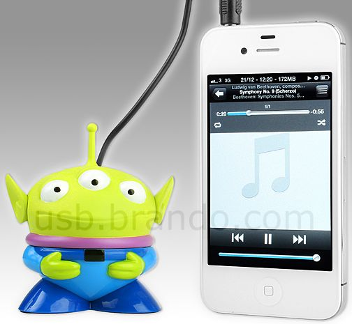 Disney Alien USB Rechargeable Mini Speaker
