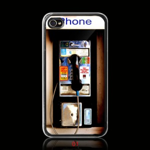 Payphone iPhone 4 Case or iPhone 4s Case