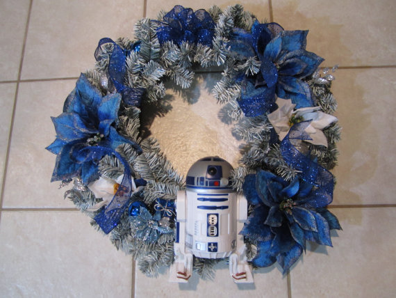 R2D2 Star Wars Handmade Wreath