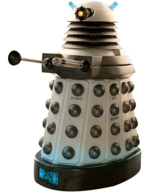 Toys Doctor Who Dalek Projector Alarm Clock