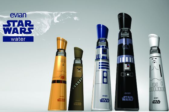 Star Wars by Evian
