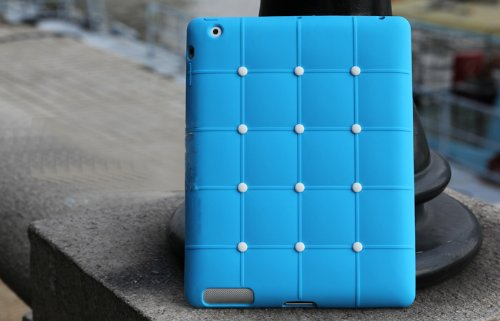 Anti Slip Soft Silicone Sofa Case Cover for iPad 2