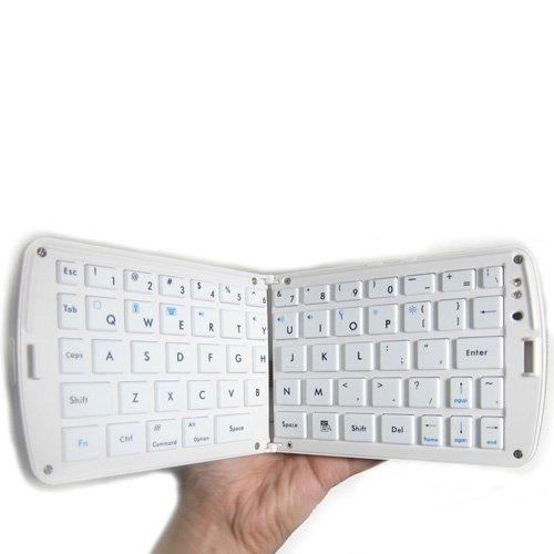 Foldable Wireless Bluetooth Keyboard for iPhone, iPad2