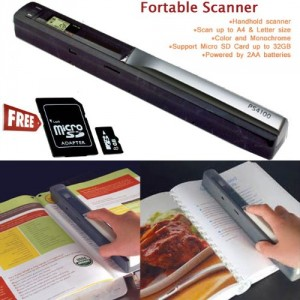 600DPI Colour & Mono Handheld Scanner