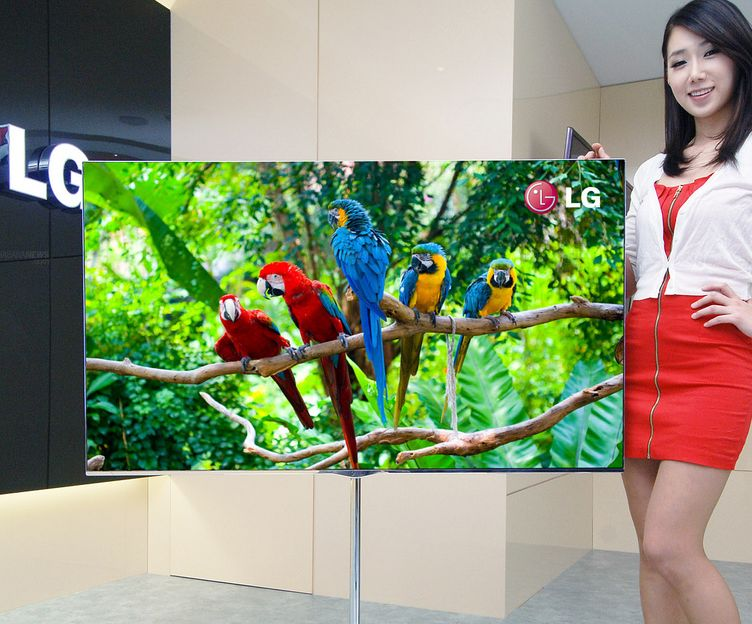 The world largest OLED TV