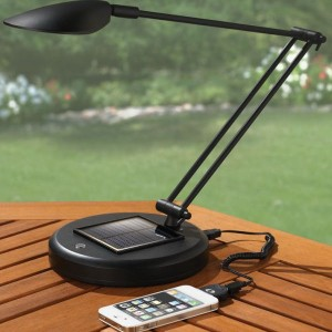 The Solar Rechargeable Reading Lamp.