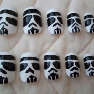 Star Wars Storm Trooper Nails