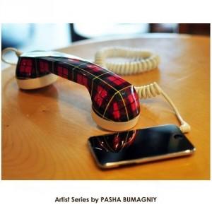 PASHA Retro Cell Phone Handset