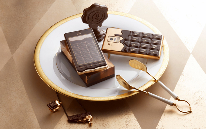 Chocolate bar smartphone