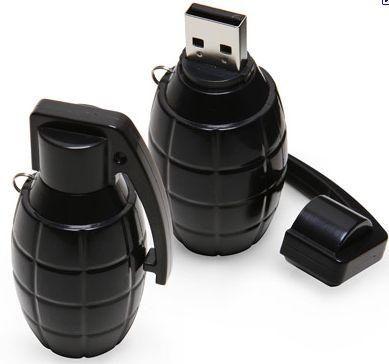 8GB 3D Bomb Shape USB FLASH DIVE