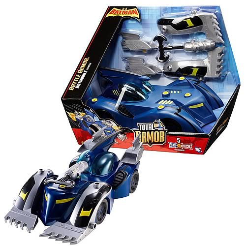 Batman Brave and the Bold Battle Armor Batmobile Vehicle