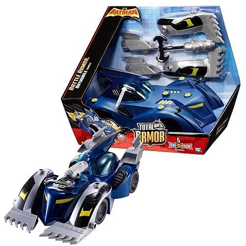 Batman Brave and the Bold Battle Armor Batmobile Vehicle