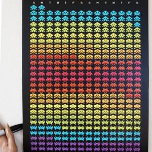 2012 Alien Invader Calendar