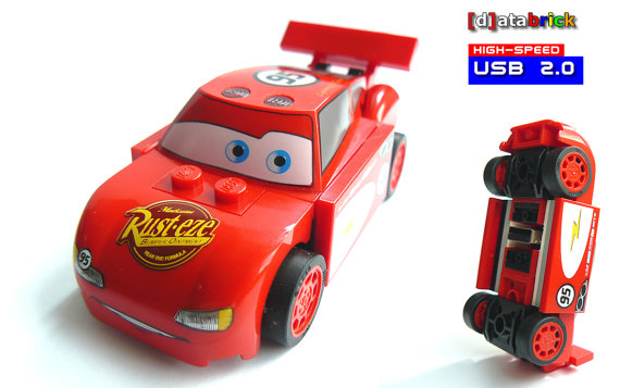 16GB USB Stick Racing Car