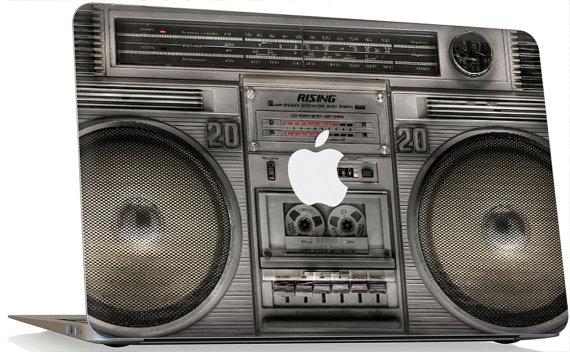 "Apple MacBook Pro 13"" 15"" 17"" Skin Cover w/ Apple Cutout - BoomBox"