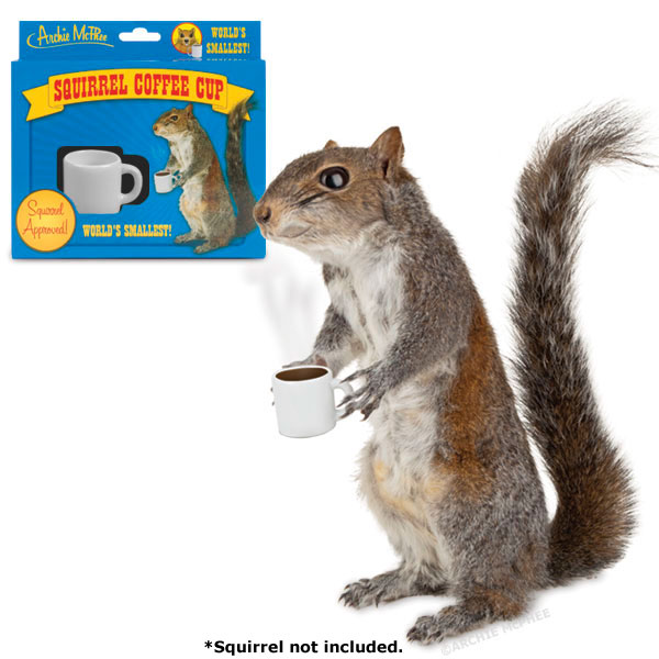 Squirrel Coffee Cup