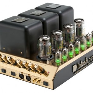 Gold-Toned 50th Anniversary Limited Edition MC275 Tube Power Amplifier