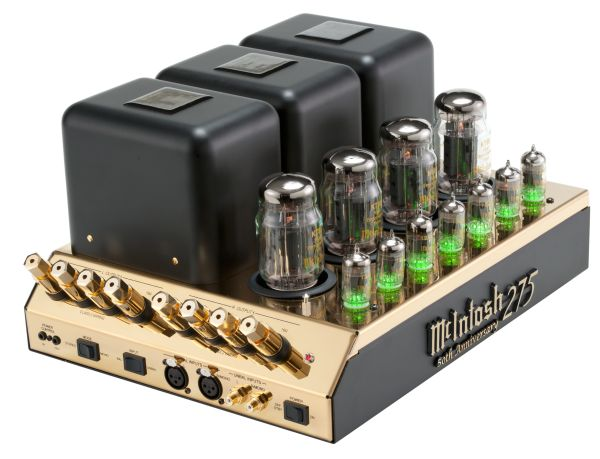 CES 2012: Gold-Toned MC275 Tube Power Amplifier