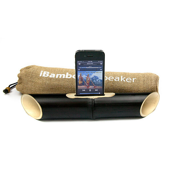 iBamboo iPhone Speaker