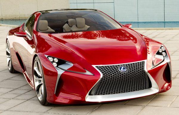 lexus LF-LC coupe concept