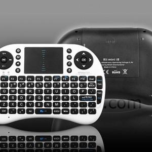 Rii Mini I8 2.4G Mini Wireless Keyboard with Touchpad