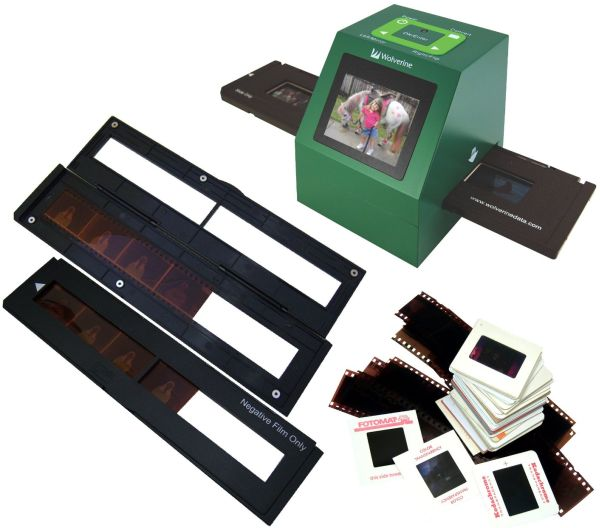 35mm Slides and Negatives to Digital Image Converter