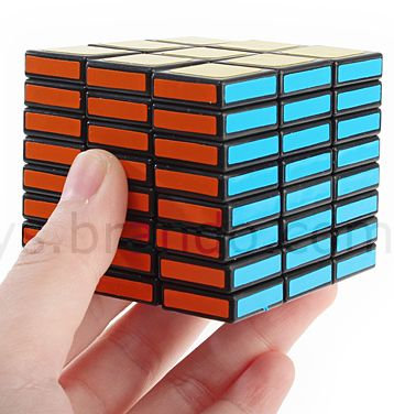 Rectangular 3x3x8 IQ EVEN Slices Brick