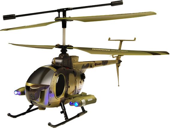 RC Helicopters with Camera on Board