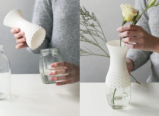 Lace Vase