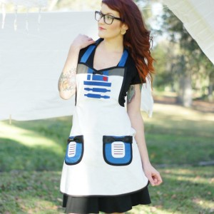 Star Wars R2D2 apron costume