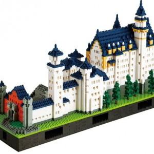 Nanoblock Neuschwanstein Castle Deluxe Edition