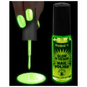 Glow in the Dark Lipstick & Nail Polish