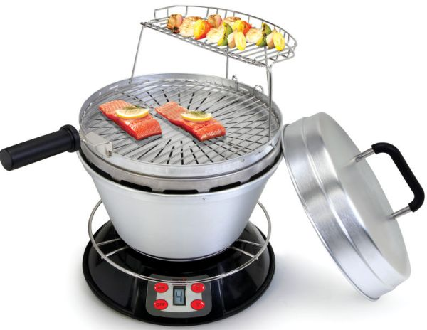 The 1,000 Degree Fahrenheit Wood Fire Grill