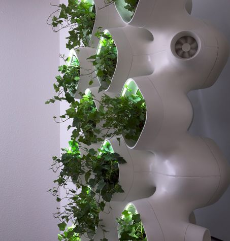 CASE and SOM's AMPS Living Green Wall Promises  Read more: CASE and SOM's AMPS Living Green Wall Promises to Dramatically Reduce Air Pollution and Energy Costs | Inhabitat - Green Design Will Save the World