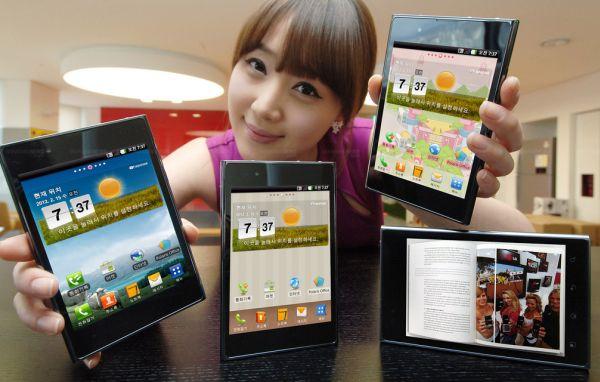 Opitmus VU thin LTE Smartphone