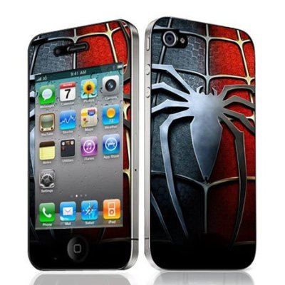 Monster Vinyl Skin Case for Iphone 4