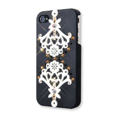 Artwork Swarovski Crystal iPhone 4 and 4S Case
