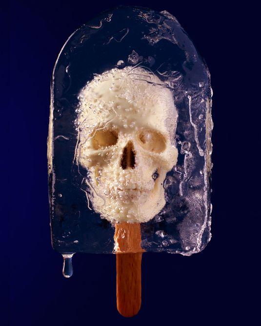 skull popsicles