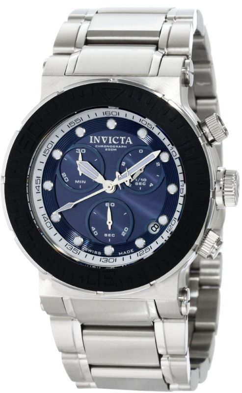 Invicta Men's Chronograph Blue watch