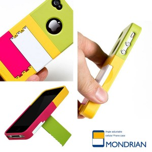 MONDRIAN iPhone 4S/4 Stand Case