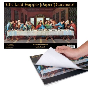 Last Supper Paper Placemats