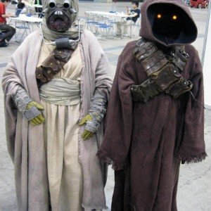 Cosplay Star Wars Jawa Robe costume prop