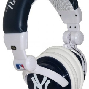 iHip New York Yankees MLB10279NYY DJ Style Headphone