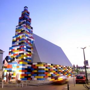 65-Foot-High Lego Church