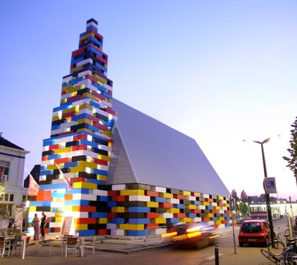 65-Foot-High Lego Church