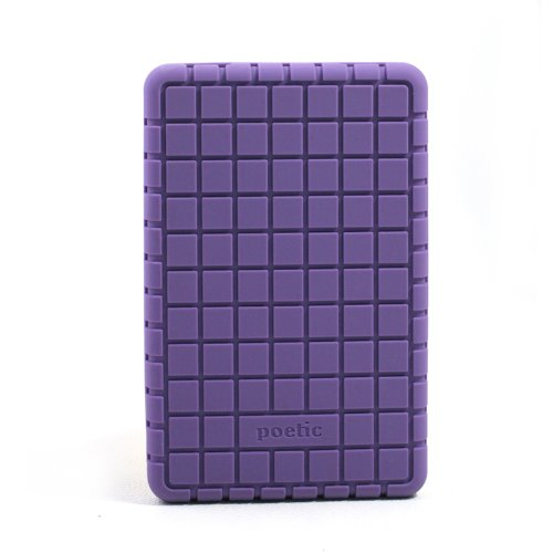 "Poetic (TM) Heavy Duty Protector Stylish Silicone Case for Amazon Kindle Fire 7"" Tablet Purple"
