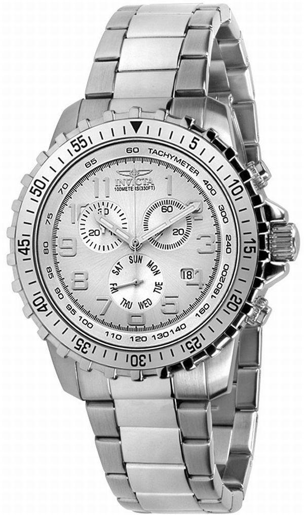 Invicta Men's Silver Dial Watch