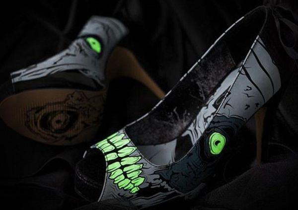 Spiked Zombie Heels